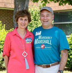 Margaret Marshall and husband