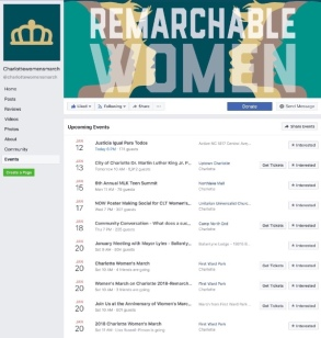 Calendar FB screen shot