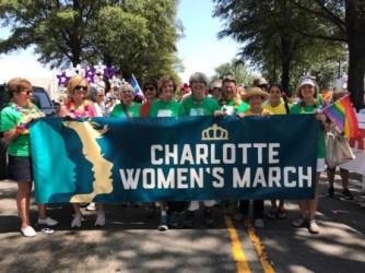 CWM banner at Pride Parade